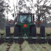 Figure 2. Custom roller/strip-till implement by Myron Johnson of Headland, Alabama. 
