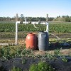Figure 1.  Fertigation unit for small acreage