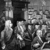Sir Robert Walpole in the House of Commons, circa 1700s