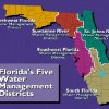 Figure 1. Florida Water Management Districts.