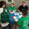 4-H information table
