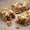 snack bar with nuts and dried fruit