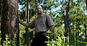 Alan Hodges in Florida pine forest