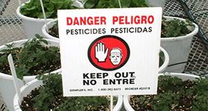 Pesticide testing.