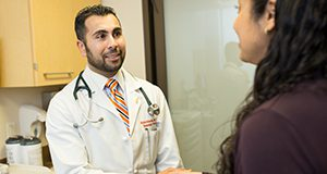 Images of Rahim Remtulla working at the Hillman Cancer Center in Pittsburgh for the CALS lookbook project.